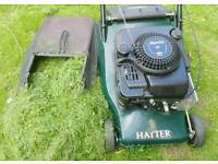 Hayter Harrier 41 Roller Stripes Petrol Lawnmower