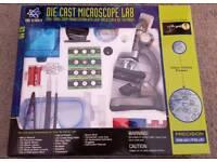 ☆ EDU SCIENCE ☆ DIECAST MICROSCOPE LAB ☆ BRAND NEW & BOXED ☆