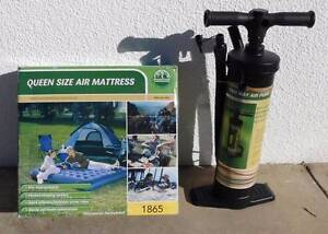 Queen size air mattress complete with inflation/deflation pump Deakin South Canberra Preview