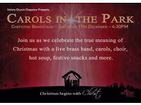 Carols in the Park 2016 (FREE EVENT - FREE FOOD - FREE DRINKS - FREE GIFTS FOR THE KIDS)