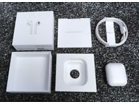 Apple AirPods Charging Case - Like New - 10 Month Apple Warranty - Boxed With Brand New Accessories!