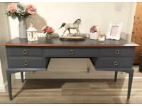 Stag Dressing/console/hallway table can deliver