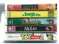 5 US Disney Classic Video Tapes