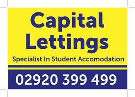 Lovely 2 bedroom flat on Mundy Place, Cathays, only £770 per month. Available from 01 Sep 2017
