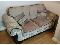 SCS Fabric 2 seater sofa and kit