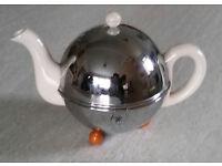 1930's Art Deco Teapot With Bakelite Feet
