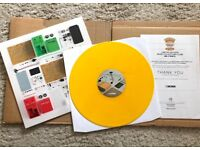 Boss Collectors Club OD-1 limited edition, coloured (yellow) vinyl 031/300 extremely rare record