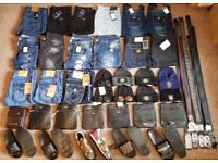 Jeans Belts Bags Shoes Slides Tracksuits - True Religion Stone Island Armani Dsquared CP