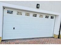 Hormann Electric Double Garage Door