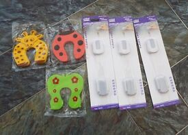 Ideal Grandparent Pack of Child Proof Protectors for 3 Doors and 3 Fridges/Freezers-BRAND NEW