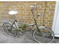 Beautiful Vintage Raleigh 20 dated 1978