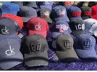 Gucci, Armani, Dsquared hats