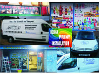 SIGNS WINDOWS DESIGNS LEAFLETS PRINT BANNER WWW DECALS CAR SIGNAGE BUSSINES CARDS BOARS DISPLAY