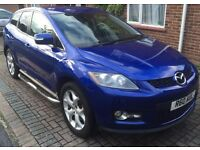 """Mazda CX-7 2.3 16V 5d 256 BHP LEATHER+CLIMATE+CRUISE+19"""" ALLOYS+BOSE system+MANUAL 6 GEARBOX+SERVICE"""