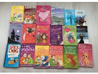 Selection of girls books worst witch