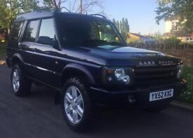 Land Rover Discovery TD5 GS 7str (blue) 2002