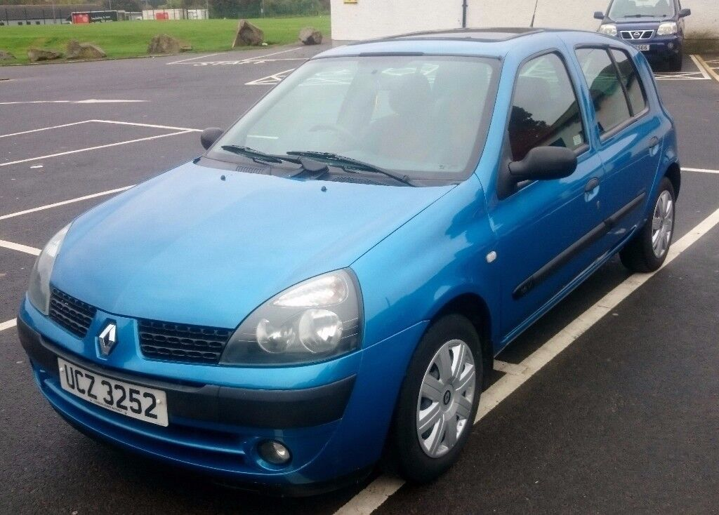 2003 renault clio extreme 1 2 sold sold in lisburn county antrim gumtree. Black Bedroom Furniture Sets. Home Design Ideas