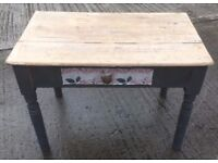 SMALL TABLE .... (FOR UP-CYCLING)
