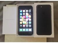 iPhone 7 128GB - BLACK - IMMACULATE - BOXED - UNLOCKED