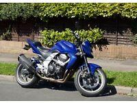 Kawasaki Z750 2009 L9F Blue LOW MILEAGE