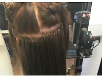 Qaulified, experienced hair dresser specialised in extensions garunteed to live you satisfied !