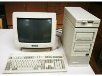 Tandon PLUS 80286 desktop computer for sale with original monitor and keyboard and 2x30MB Data Pac