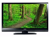 """37"""" INCH TOSHIBA LCD FULL HD TV WITH BUILT IN FREEVIEW **DELIVERY IS POSSIBLE**"""