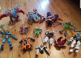 Bundle pack of 12 x Transformers