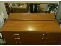 Drawer Cabinet With Mirror and 5 Drawer Cabinet