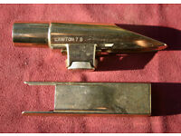 Lawton 7B Metal Tenor Saxophone Mouthpiece