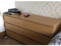 Ikea set of Drawers.