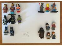 Lego minifigures (marvel, simpsons, Harry Potter)