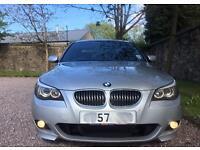 57 BMW 530D M SPORT AUTO LCI + FULL BMW SERVICE HISTORY + BARGAIN