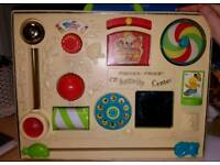 Vintage 1973 Fisher Price Activity Centre