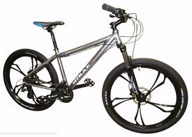 """Wow Amazing Look! New 26 Inch Suspension Mountain Bike 16"""" Frame with High Specs. A Deal Not to Miss"""