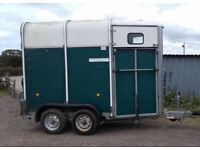 Ifor Williams HB401 horse trailer