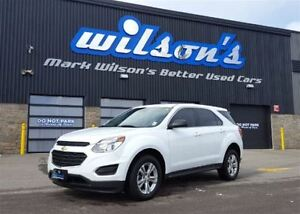 2016 Chevrolet Equinox LS AWD! $72/WK, 5.49% ZERO DOWN! REAR CAM