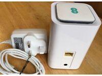 Huawei E5180 Cube UNLOCKED Mobile Broadband Router 4G LTE MiFi WiFi