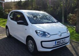 VW Move UP! White. Great Condition and only £20/yr to tax and lowest insurance bracket