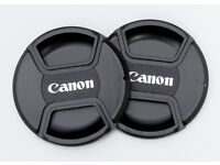 52mm Centre pinch lens cap for Canon lenses