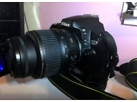 Nikon D60 Camera body with Battery Grip +Nikon Nikkor 18-55mm