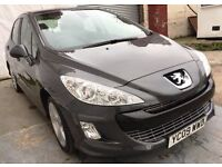 2009 Peugeot 308 1.6 HDi SPORT 5dr/FULL SERVICE HISTORY/Hpi Clear/Ph:07459871313