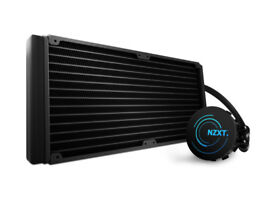 NZXT Kraken x61 AIO cooler with custom Fractal Design Venturi HP-14 PWM fans