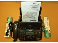 PANSONIC PLAIN PAPER (A4) FAX COPIER. FREE TO COLLECT