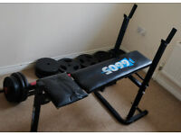 York 6605 weights bench for bench press