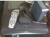 Sky HD Box..Router and Remote Controller...In full working order