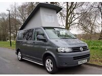 Volkswagen Transporter T5 2.0TDI 102Ps Campervan Camper 2012 SWB Pop Top RIB Bed