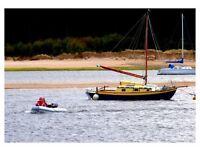 Westcoaster Wooden Sailing Yacht