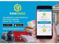 rubbish and waste removal Mobile App in London also offering House and office Clearances