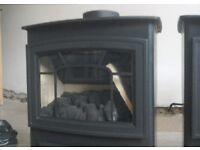 2cast iron gas fires